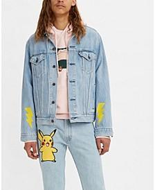 x Pokémon Vintage Fit Trucker Jacket