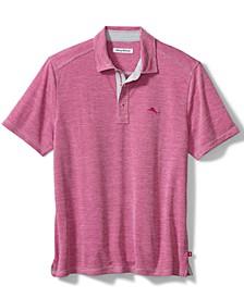 Men's Paradiso Cove Stripe Jacquard Polo Shirt