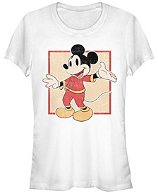 Juniors Disney Mickey Classic Chinese Mickey T-Shirt