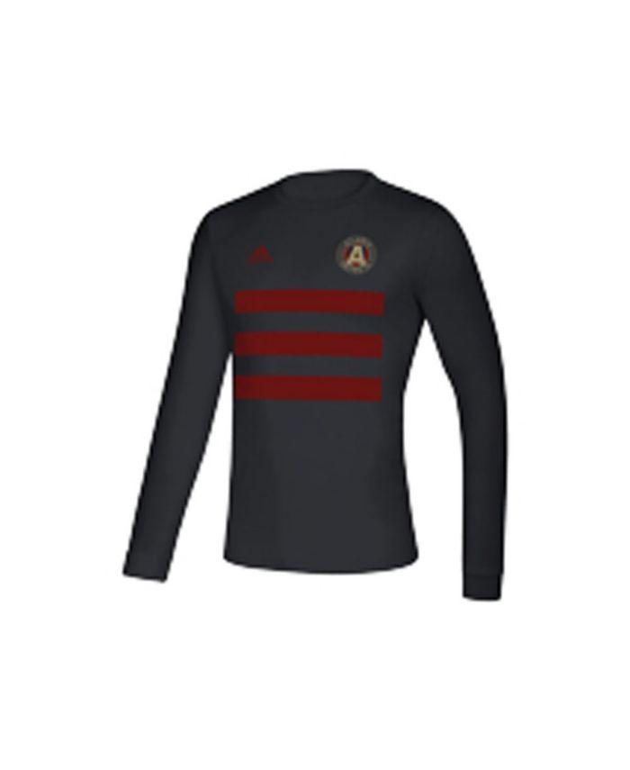 Adidas Atlanta United FC Men's Three Stripe Life Pitch Creator Long Sleeve T-Shirt & Reviews - Soccer - Sports Fan Shop - Macy's