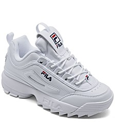 Little Kids Disruptor II Casual Sneakers from Finish Line