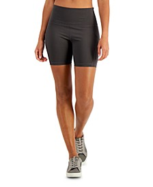 Women's High-Rise Bike Shorts, Created for Macy's