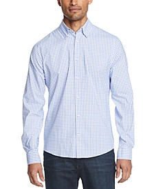 Men's No-Tuck Casual Slim Fit Stretch Dress Shirt
