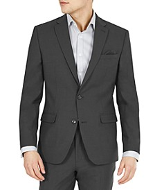 Men's Slim-Fit Solid Wool Suit Jacket, Created for Macy's