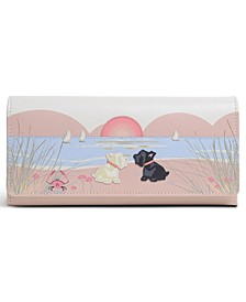 Burgh Island Large Leather Wallet