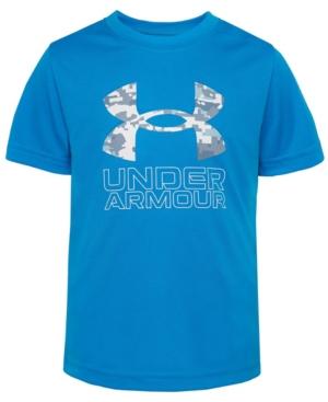 Under Armour T-shirts LITTLE BOYS ABC CAMO BIG SYMBOL SHORT SLEEVE T-SHIRTS