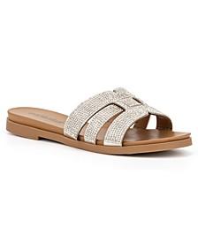 Women's Saltspring Rhinestone Flat Sandals