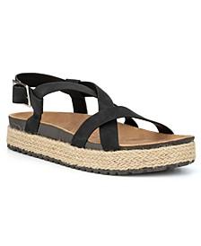Women's Byron Bay Strappy Espadrille Sandals