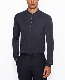 BOSS Men's Silk Polo Shirt