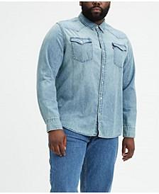 Men's Big & Tall Classic Western Shirt