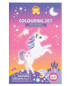 Tiger Tribe Unicorn Magic Coloring Set with Markers and Stickers