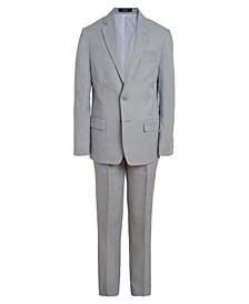 Big Boys Heather Twill Suit, 2-piece Set