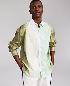 Allen Onyia for INC Men's Oversized Tie Dye Shirt, Created for Macy's