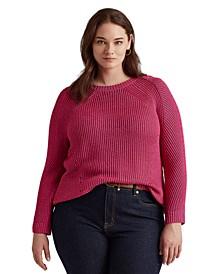 Plus Size Crewneck Sweater