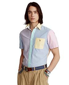 Men's Big & Tall Oxford Fun Shirt