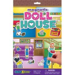 Lauri Create-a-Scene Magnetic Playset - Dollhouse