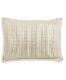 Ginkgo Quilted King Sham