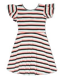 Little Girls Striped Dress