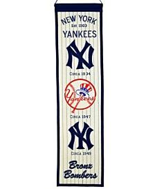 Winning Streak New York Yankees Heritage Banner