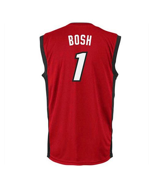 big sale 31e81 b88bb adidas Men's Chris Bosh Miami Heat Replica Jersey & Reviews ...
