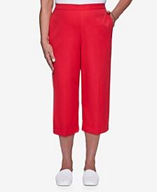 Women's Missy Anchor's Away Heat Set Cuff Capri Pants