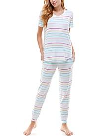 Short Sleeve Loungewear Set