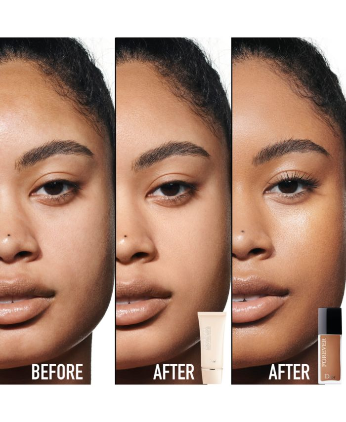 Dior Forever 24H Wear High Perfection Skin-Caring Matte Foundation, 1 oz. & Reviews - Foundation - Beauty - Macy's