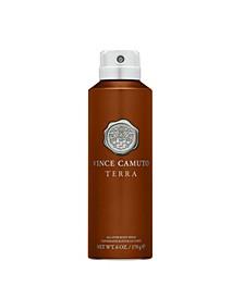 Men's Terra Body Spray, 6 Oz