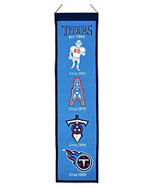 Winning Streak Tennessee Titans Heritage Banner