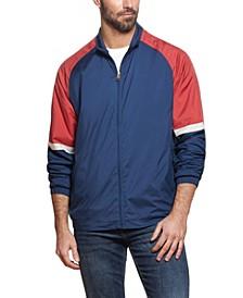 Men's Full Zip Color Block Jacket