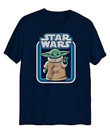 Big Boys Star Wars Retro Yoda Graphic T-shirt