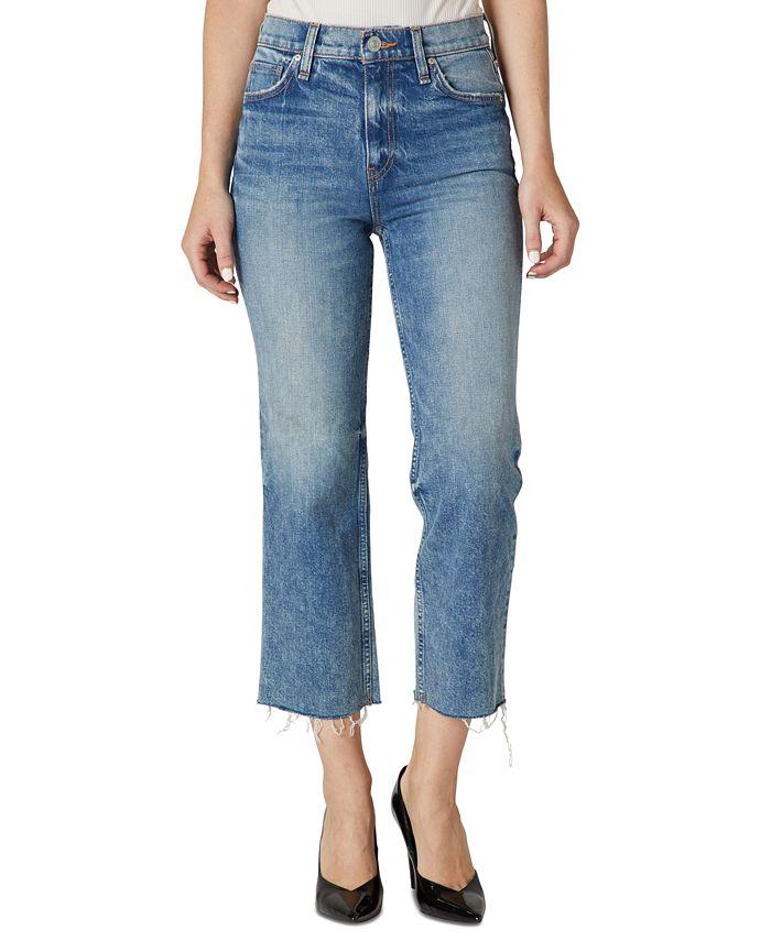 Hudson Jeans - Remi High-Rise Straight-Leg Jeans
