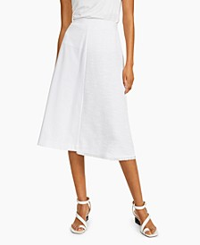 Petite Contrast-Panel Skirt, Created for Macy's
