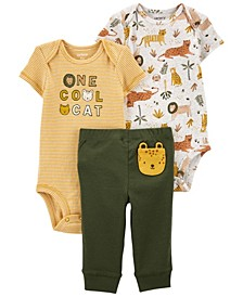 Baby Boys Cool Cat Little Character Set, 3 Pieces