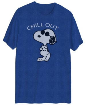 Men's Snoopy Chill Out Graphic Short Sleeves T-shirt