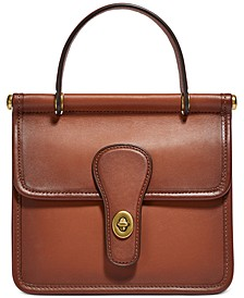 The Coach Originals Leather Willis Satchel