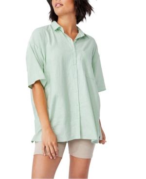 Women's Dad Shorts Sleeve Shirt