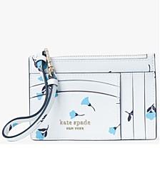 Spencer Dainty Bloom Card Case Wristlet