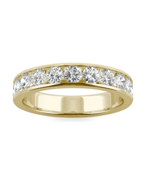 Moissanite Channel Band 1-1/10 ct. t.w. Diamond Equivalent in 14k Gold