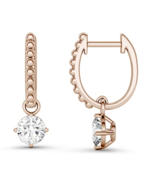 Moissanite Beaded Drop Earrings 1 ct. t.w. Diamond Equivalent in 14k Gold