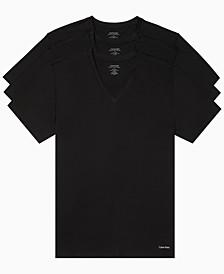Men's Big Cotton Classics V Neck 3 Pack