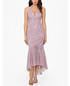 Mermaid-Hem Bodycon Dress