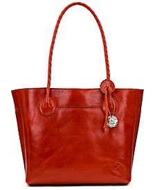 Leather Eastleigh Tote