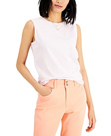 Cotton Muscle Tank, Created for Macy's