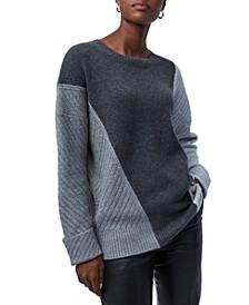Sophia Viola Crewneck Sweater