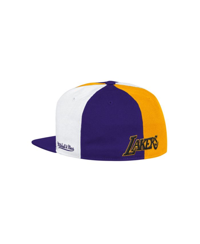 Mitchell & Ness Los Angeles Lakers Hardwood Classic Reload 2.0 Pinwheel Fitted Cap & Reviews - NBA - Sports Fan Shop - Macy's