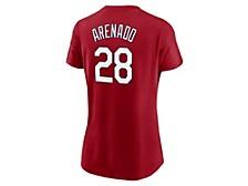 Women's St. Louis Cardinals Name and Number Player T-Shirt - Nolan Arenado