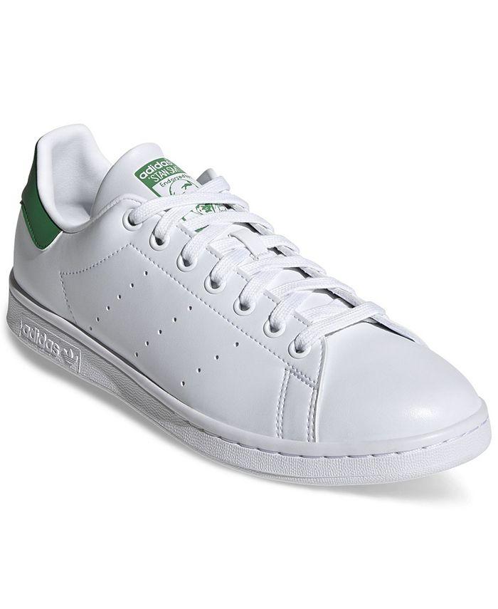 Men's Originals Stan Smith Primegreen Casual Sneakers from Finish Line