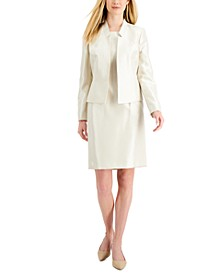 Stand-Collar Dress Suit