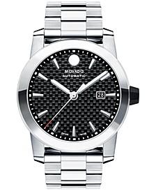 Men's Swiss Automatic Vizio Stainless Steel Bracelet Watch 44mm